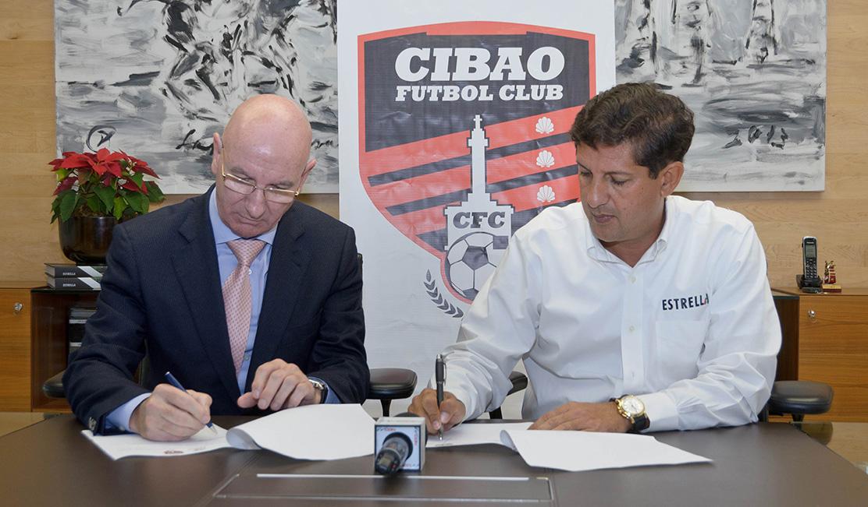 Firma Cibao FC y Real Madrid