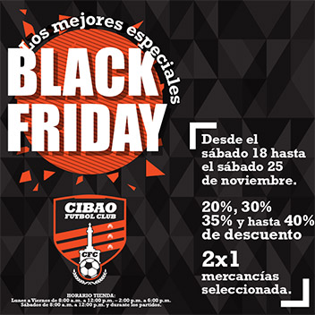 Black Friday CFC