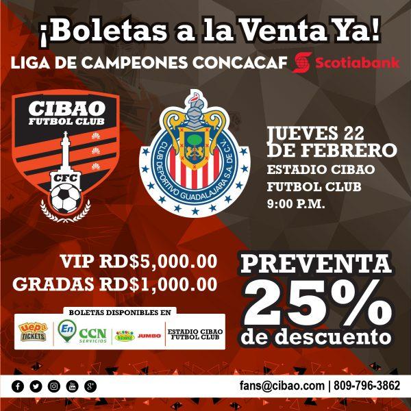 VENTA BOLETAS CFC CONCACAF