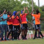 Cibao FC goleó a Delfines y empata en primer lugar